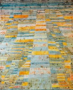 Paul Klee- Main roads and side roads