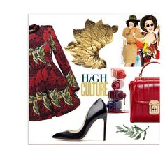 """Dress Up!"" by belldraw ❤ liked on Polyvore featuring Dolce&Gabbana, Marc by Marc Jacobs, Rupert Sanderson, dolceandgabbana and marcbymarcjacobs"