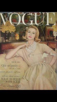 1960's Vogue magazine