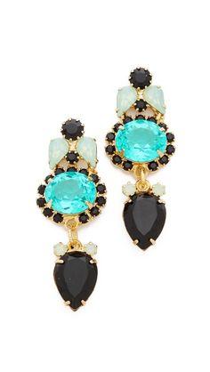 Elizabeth Cole Small Drop Earrings
