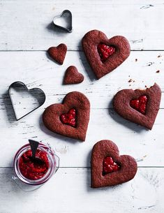 Chocolate Hearts, Biscuits, Deserts, Cookies, Food, Recipes, Thermomix, Crack Crackers, Crack Crackers