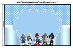 Smurfs: Free Printable Candy Bar Labels for Boys Party. Printable Labels, Free Printables, Candy Bar Labels, Smurfette, Blogger Templates, Boy Birthday, Birthday Ideas, Birthday Parties, Craft Fairs