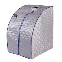 Portable infrared sauna $169 on Ebay! Hmmm... Could take to the lake, bonus!