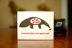 I Could Just Eat You Up  Mod Anteater I Love You by MANvsGEORGE