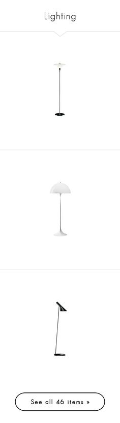 """Lighting"" by couchpotatocompany ❤ liked on Polyvore featuring home, lighting, design, louis poulsen light, louis poulsen lamp, louis poulsen, louis poulsen lighting, floor lamps, louis poulsen floor lamp and wall lights"