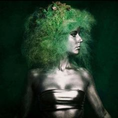This #hairart has us #green with envy! Check out the #Hair Upload of the Day by David Robles on #Bangstyle
