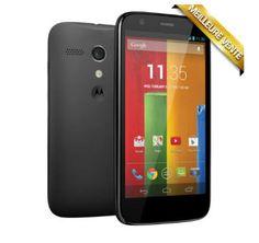 Téléphone portable sans abonnement MOTOROLA Moto G 8Go noir prix promo Boulanger 169,00 € TTC