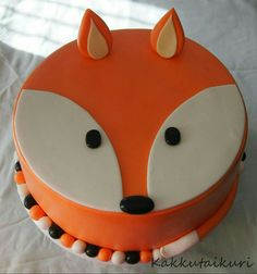 Fox Party, Novelty Cakes, Birthday Parties, Birthday Cakes, Birthday Ideas, Fondant, Party Themes, Cupcakes, Baby Shower