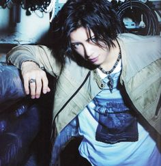 Camui Gackt - Japanese musician, singer-songwriter, actor and author.