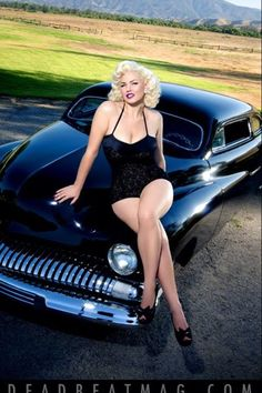 Gia Genevieve on the cover of DeadBeat Magazine.Pinup Couture- | Pinup Girl  http://thepinuppodcast.com features pinup models and pin up photographers.
