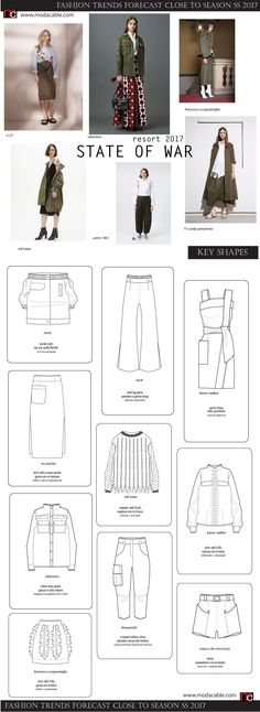 What's trending: women's street style for fall/winter 2017 Flat Drawings, Flat Sketches, Technical Drawings, Fall Fashion Trends, Fashion 2017, Web Design, Diva Design, Fashion Vocabulary, Fashion Sketchbook