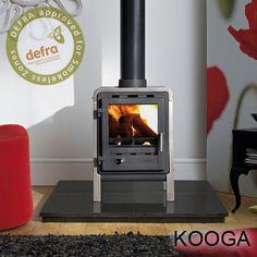 Kooga 5kw Defra Approved Wood Burning Stove - Click Image to Close