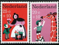 Netherlands Stamp Design | A Buffetina's Adventure
