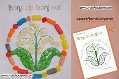 Le 1er mai en Playmaïs |    Des brins de muguet pour le 1er mai