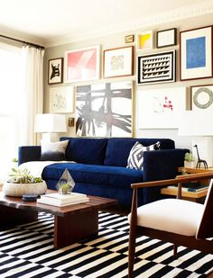 Incroyable 5 Times IKEA Looked Deceptively Elegant. Blue CouchesNavy Blue SofaTeal  CouchOffice IdeasLiving Room DecorLiving ...