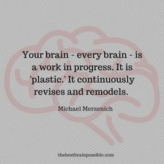 Neuroplasticity refers to alterations in your brain made in response to incoming stimuli. Your life literally changes the form and function of your brain. For better or worse, you are life continually shaping your #brain every day of your life.   #neuroplasticity #mentalhealth #psychology