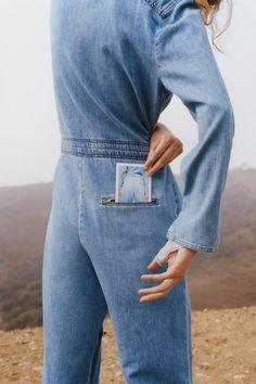 Alexandra Elizabeth Ljadov for M.i.h Jeans Summer 2016 Campaign by Colin Dodgson