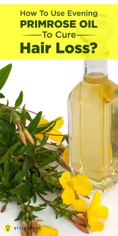 There are many treatments available for treating premature baldness and excessive hair loss. However, not all of these products and treatments are equally effective. If you are also suffering from the same, it's a good idea to try evening primrose oil for for hair loss benefits.