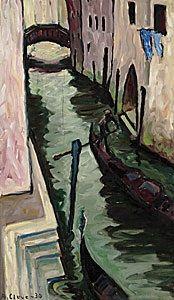 Canal, Venezia by Agnes Cleve