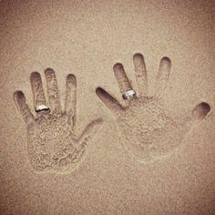 Beach wedding idea