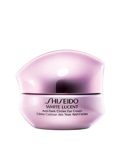 Shiseido's dark-circle fighting eye cream has an ingredient to fight melanin production, meaning less dark circles in the future. Woo hoo!