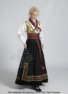Beltestakk fra Telemark - BunadRosen AS Folk Costume, Costumes, Norwegian Clothing, Norwegian Style, Old Fashion Dresses, Medieval Dress, European Fashion, Traditional Dresses, Perfect Word