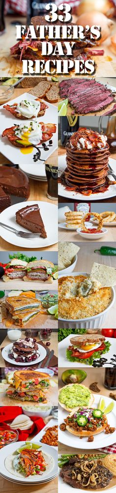 33 Father's Day Recipes