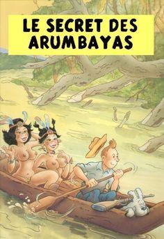 Les Aventures de Tintin - Album Imaginaire - Le Secret des Arumbayas