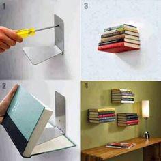 This is kinda cool - I need bookshelves though