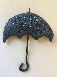 My umbrella pincushion
