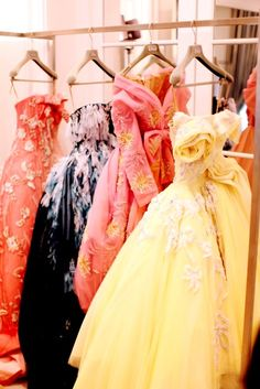 christian dior _ yay ball gowns!