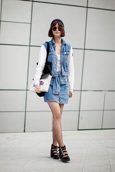 On the street… Kyungah Song Seoul fashion week 2014 F/W   echeveau