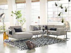Furninova - Prisvärda kvalitéts soffor - Skandinavisk design | Store Tidlös skandinavisk design och hög kvalitet präglar modellen Noir, som finns i en mängd olika utföranden. Modellen är byggbar.