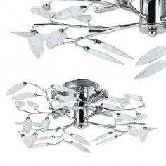 [lux.pro] Lampada da soffitto di cristallo 27,80 € Cufflinks, Abstract, Artwork, Accessories, Light Bulb Vase, Interior Lighting, Ceiling Lights, Summary, Work Of Art