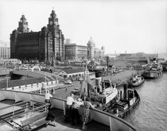 Liverpool Museum, Liverpool Town, Liverpool Docks, Liverpool History, Liverpool Waterfront, Southport, National Museum, Old Photos, New York Skyline