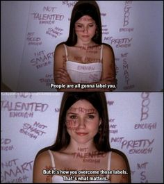 Pretty sure this is from one tree hill, but its kinda inspirational.
