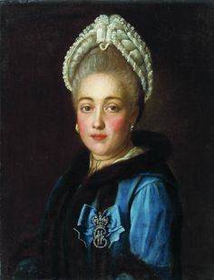 Portrait of Countess V.P. Sheremeteva by Argunov I.P.