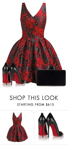 """""""I'm heading straight for the castle ..."""" by directioner-123-ii on Polyvore featuring Christian Louboutin and FFfatifashion"""