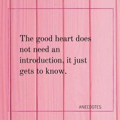 Good heart Good Heart, Quote Of The Day, Perspective, Life Quotes, Poetry, Good Things, Motivation, My Love, Instagram
