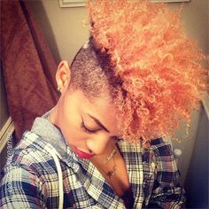 Natural Hair Cut/Cute