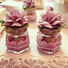 Best baby shower food for girl creative mason jars 24 ideas Jar Crafts, Bottle Crafts, Diy And Crafts, Wedding Favors, Party Favors, Wedding Gifts, Favours, Baby Shower Decorations, Wedding Decorations