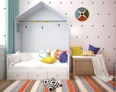 Bed for nursery / Детская ручной работы. Ярмарка Мастеров - ручная работа. Купить Кроватка для детей. Handmade. Белый, кровать детская, кровать