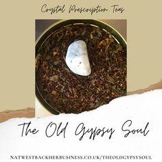Howlite Crystal Infused Tea Sleepy Rooibos Blend
