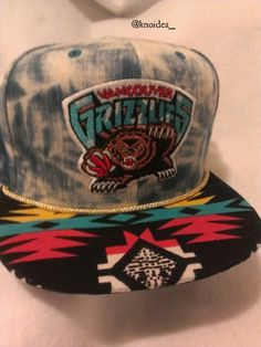 Memphis Grizzlies custom denim snapback