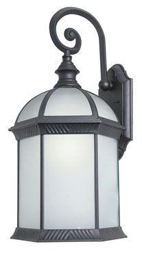 Woodbridge Lighting Glenwood Outdoor Lighting Wall 61034WL-BKP