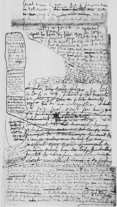 A Proust first draft. Computers have made the process look cleaner, but creativity is messy.