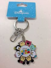 Hong Kong Disneyland Tsum Tsum Mickey Minnie Toy Story Keychain