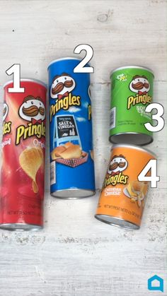 4 Ways To Upcycle Your Pringles Can! - 4 Ways To Upcycle Your Pringles Can! - 4 Ways To Upcycle Your Pringles Can! – 4 Ways To Upcycle Your Pringles Can! Pringles Dose, Pringles Can, Diy Crafts Hacks, Diy Home Crafts, Diy Projects, Recycling Projects, Recycled Decor, Recycled Crafts, Repurposed