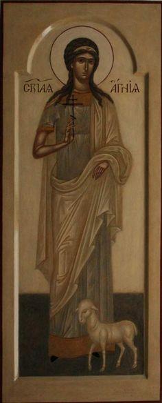Икона св. Агнии - Галерея - Артос