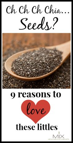 Ch Ch Ch Chia…Seeds? 9 Reasons to Love These Littles! | www.mixwellness.com